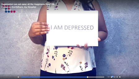 Depression can eat away all the Happiness from Life